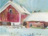 Red Barn, Edmeston