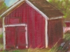 Red Barn, Hanaford Mills