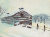 Winter Barn, Otsego County