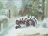 Tractor, Burlington Flats